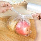 Sac de plastique alimentaire blanc Gilet sac à main sac en plastique jetables