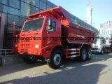 2017 새로운 HOWO 6X4 U 유형 바디 덤프 트럭