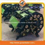 Mini runde Ballenpresse zu a Gehen-Hinter Traktor-preiswerter landwirtschaftlicher Heu-Ballenpresse