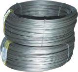 Por imersão a quente de aço galvanizado revestido de zinco Strand Fio para cabo de comunicação