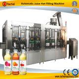 Tipo medio máquina automática del relleno en caliente del jugo
