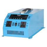 Портативный 3000W инвертор 12 220V инвертор с зарядным устройством защиты Veicular 12 220 Преобразователь напряжения с помощью рукоятки Чистая синусоида