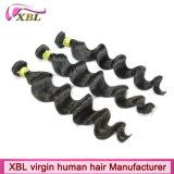 Cabelo peruano da onda frouxa de Hotsale extensões do cabelo de 22 polegadas