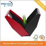 Personalizar papel de design fantástico caixa de embalagem de vinho (QYCI1516)