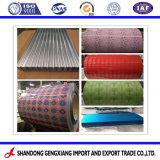 Prepainted Galvalume PPGL bobinas de acero para techos Construcción