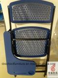 Silla de malla de plástico de marco de acero de alta calidad para plegado