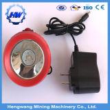Mützenlampe-Bergmann-Gebrauch der Lithium-Batterie-nachladbarer LED mit Aufladeeinheit