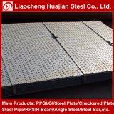 Bobinas Checkered suaves laminadas a alta temperatura do aço da placa de assoalho do carbono