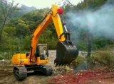 Pelle excavatrice chenillée Vente chaude, avec moteur Isuzu