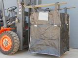 1300kg FIBC riesige Beutel für Kleber-Verpackung, Sand, chemische flache Unterseiten-Plastiktaschen