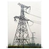 高圧電力伝達電流を通されたMonopole鋼鉄タワー