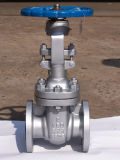 L'acciaio di getto API600 ha flangiato valvola a saracinesca