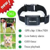 가장 새로운 IP67는 Geo 담 D61를 가진 애완 동물 GPS 추적자를 방수 처리한다