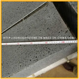 Het natuurlijke Basalt van de Steen van de Lava met Groot Gat voor Betonmolen