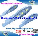 Yaye 18 Hot SELL USD62.5/PC pour S/N 150W à LED feux de la rue/ Bridgelux LED avec des feux de route 2/3/5 ans de garantie (le meilleur fournisseur : Zhongshan YAYE Lighting Co., Ltd)