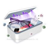 8 lâmpada germicida UV Telefone Caixa de desinfecção, dispositivo de desinfecção UV, Smart Caixa de desinfecção Carregador Sem Fio (branco)