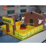 L'Espagnol Bull fighting nouveau taureau gonflables taureau mécanique de la machine avec les jeux de sport de matelas gonflables Taureau de rodéo