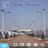8mの街灯柱120Wの太陽電池パネル60W LEDの街灯
