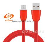 Fabrik-Großverkauf roter Typ-c aufladendaten-Kabel für Samsung