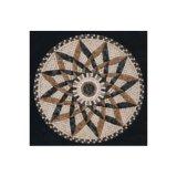 Sale As04のためのAsain Stone Marble Waterjet Medallion Pattern Mosaic Tile
