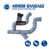 Forte spostamento di tensione dell'armatura del nastro dell'involucro di riparazione della perdita del tubo