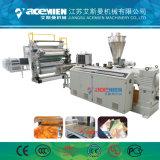 Hoja de mármol imitado de PVC/placa de la línea de producción/Perfil