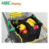 Supermercado de poliéster reciclado Saco de carrinho de compras