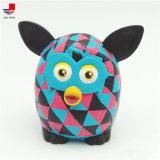昇進のプラスチックフクロウの動物のおもちゃは置物の赤ん坊動物のおもちゃをカスタマイズした