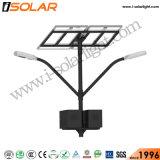Doble brazo 50W de energía solar el Sistema de iluminación LED de área