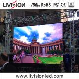 舞台の背景LEDビデオスクリーンP3.91 LEDスクリーンの屋内使用料LEDのビデオ壁
