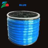 Der Umhüllungen-Seil-Lichter 24V färben einzelnes Farben-8mm *16mm rundes Neondes flexled Seil-Licht-batteriebetriebene Seil-der Licht-LED