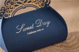 Personalizar Fancy Chocolate/Caramelos/Cookie/Pastel envases de papel Caja de regalo para la boda, la Navidad