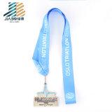 昇進のギフトのカスタム装飾の金属のクラフトのスポーツ賞の銀の記念品メダル