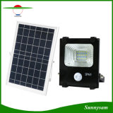 La iluminación exterior 10W 20W 30W 50W 100W Sensor de movimiento Farol Solar