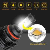 Luz antiniebla de color dual X4 13000LM CREE LED Auto Kit de conversión de la bombilla del faro