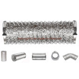 Los tubos de aluminio flexible Non-Insulated