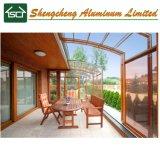 Camera di vetro del blocco per grafici di /Aluminium della villa di stile ritrattabile del Sunroom di alluminio e del wintergarden
