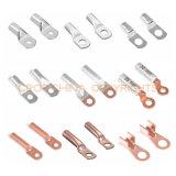 Zwei Schrauben-kupferne bimetallische Aluminiumösen und Scheiben/Kabel-Öse-Typen