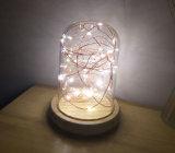 Les lumières de Noël en acrylique coloré de gros