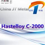 Hastelloy c-2000 nikkel-Basis de Pijp van de Plaat van de Staaf van de Legering
