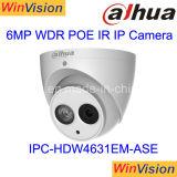 Macchina fotografica esterna del IP della scheda H265 6MP HD Poe Dahua di deviazione standard di notte di giorno di IR della cupola della videocamera di sicurezza del CCTV di Dahua