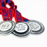 La alta calidad con la medalla de premio de plata