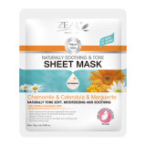 Zeal Face Care Soothing & Tone Sheet Máscara 25ml