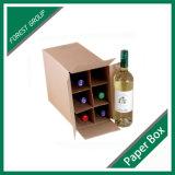 Caixa de embalagem de garrafa de vinho Fabricante (FP3004)
