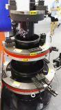 corte inoxidable montado externo del tubo de acero del metal orbital eléctrico y máquina que bisela