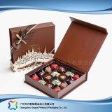 Cadre de empaquetage se pliant de cadeau de chocolat de sucrerie de bijou de Valentine (xc-fbc-015)