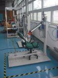 自動オフィス装置の椅子の背部疲労試験機