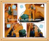 Mezclador concreto forzado del alto árbol horizontal doble eficiente de Js Js500, mezclador concreto obligatorio del eje gemelo Js500