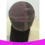 Virgin 브라질 머리 Glueless 레이스 정면 가발 또는 가득 차있는 레이스 가발