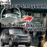 Android Market 5.1 Caixa de navegação GPS para Land Rover Range Rover Interface de Vídeo etc com tela Waze Gvif expressos no Youtube